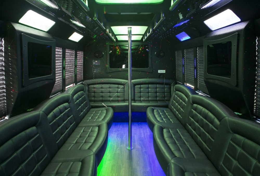 Ford 29 Passenger Limo Party Bus Inside 03