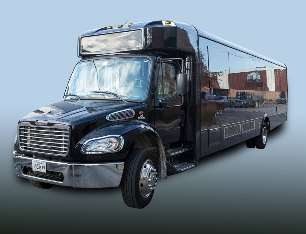 Ford 40 Passenger Limo Party Bus Front