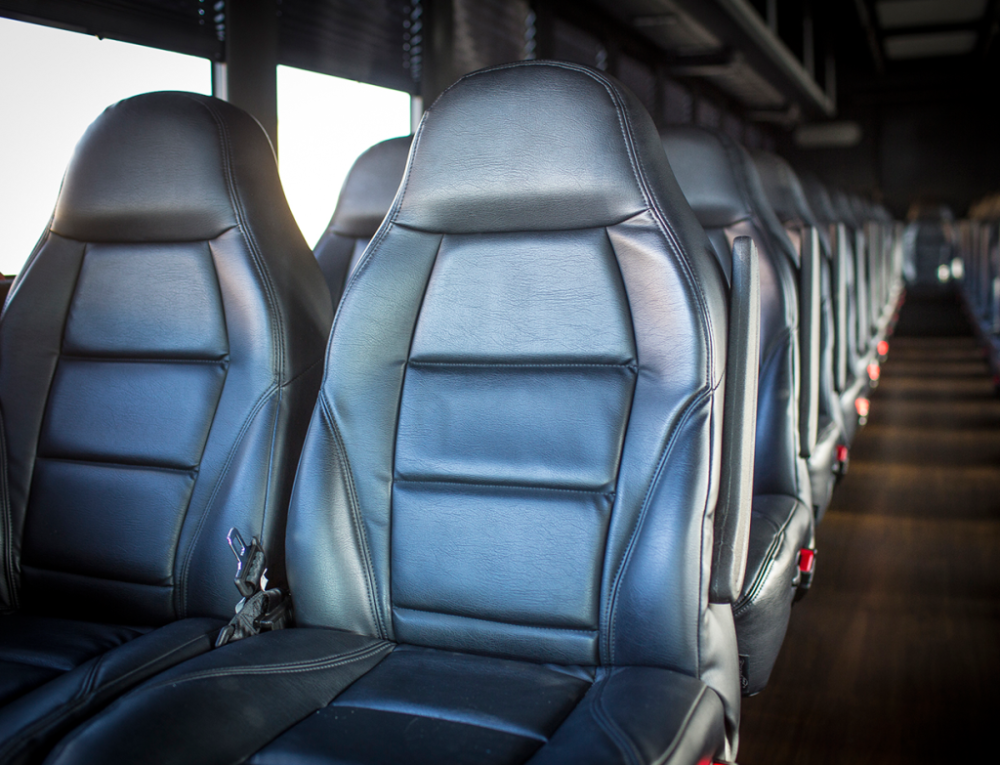 Ford 55 Passenger Limo Party Bus Seats