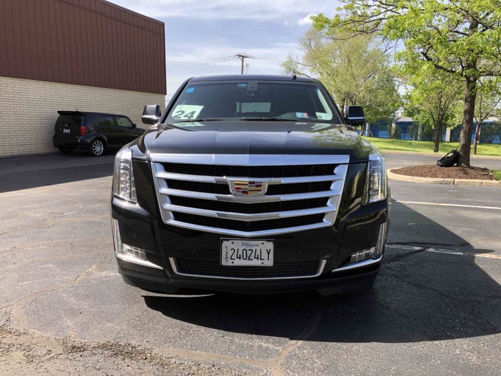 Latest Model Cadillac Escalade Front