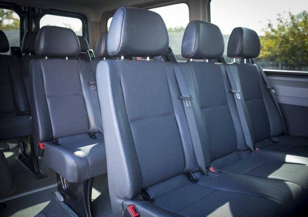 Mercedes Benz Limousine Bus 14 Passenger Inside