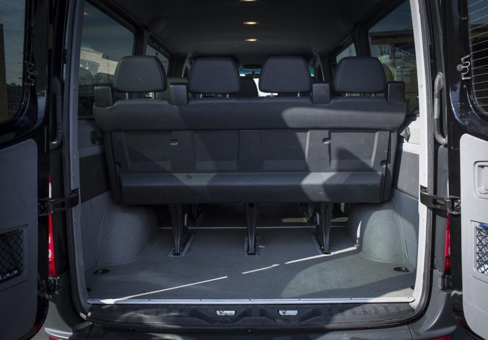 Mercedes Benz Limousine Bus 14 Passenger Rear Inside