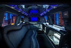 14 Passenger SUV Limousine Interior 01